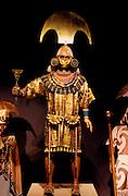 PERU, PREHISPANIC, GOLD Moche (Mochica), Lord of Sipan