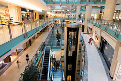 Interior of Abu Dhabi shopping mall  in Abu Dhabi UAE