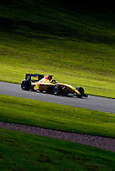 German Sanchez in action at Donington Park during the FIA Formula Two Championship