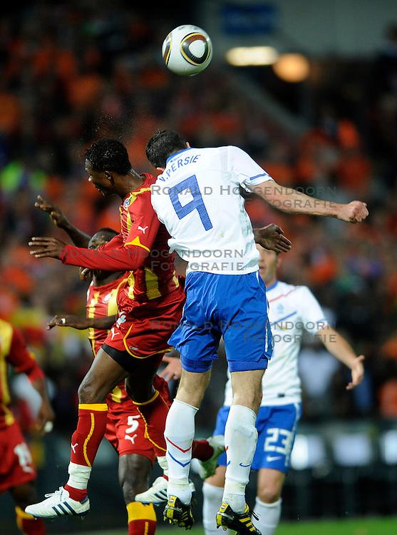 01-06-2010 VOETBAL: NEDERLAND - GHANA: ROTTERDAM<br /> Nederland wint vrij eenvoudig de oefenwedstrijd van Ghana / Robin van Persie<br /> &copy;2010-WWW.FOTOHOOGENDOORN.NL
