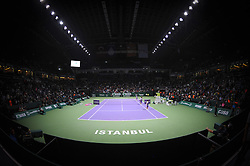 24.10.2012, Sinan Erdem Dome, Istanbul, TUR, WTA, TEB BNP Paribas, im Bild  Atmosphere // during WTA, TEB BNP Paribas Championships at the Sinan Erdem Dome, Istanbul, Turkey on 2012/10/24. EXPA Pictures © 2012, PhotoCredit: EXPA/ Seskimphoto/ Spfc/ ****** ATTENTION - for AUT, ESP, ITA, SWE, SLO, NOR, FIN, SRB NED and USA ONLY! *****