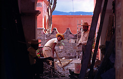 Brick and Stone Cutters, Mexico