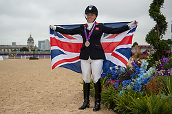 Sophie Wells (GBR)<br /> Individual Championship Test - Grade Ia<br /> London 2012 Paralympic Games<br /> © Hippo Foto - Jon Stroud