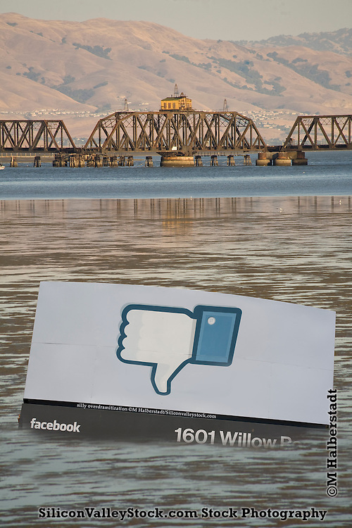 Silly Over Dramatic Dramatization of Effects of Sea Level Rise on Facebook