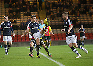 Dundee&rsquo;s Darren O&rsquo;Dea joins the attack as the Dark Blues press late on - Partick Thistle v Dundee in the Ladbrokes Scottish Premiership at Firhill, Glasgow - Photo: David Young, <br /> <br />  - &copy; David Young - www.davidyoungphoto.co.uk - email: davidyoungphoto@gmail.com