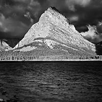 Mount Grinnell monochrome