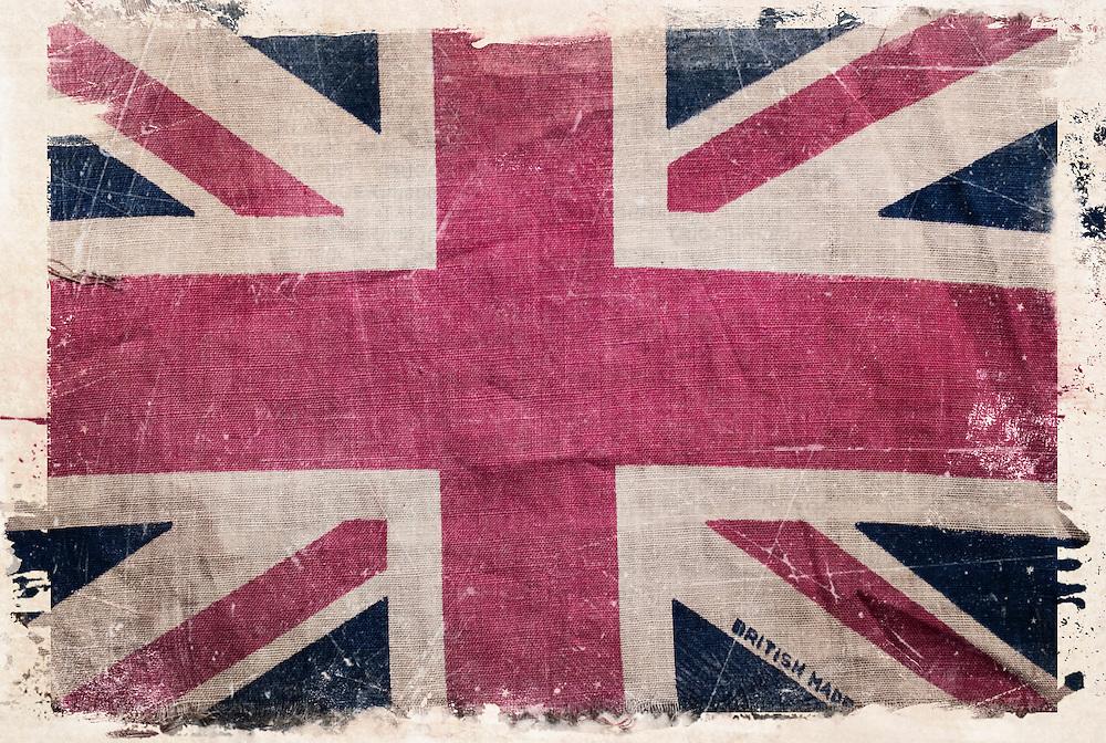 Old Union Jack flag