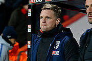 AFC Bournemouth manager Eddie Howe during the Premier League match between Bournemouth and Chelsea at the Vitality Stadium, Bournemouth, England on 30 January 2019.