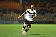Port Vale forward Byron Moore during the The FA Cup match between Port Vale and Maidenhead United at Vale Park, Burslem, England on 8 November 2015. Photo by Jemma Phillips.