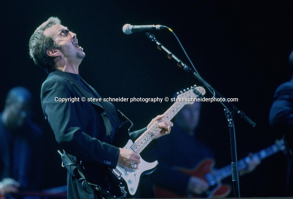 Eric Clapton plays The Key Arena, Seattle, WA on 6-6-1998