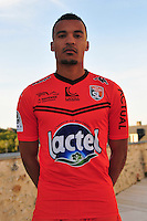 Kevin Afougou-Jouanneau - 28.09.2015 - Photo officielle - Laval - Ligue 2<br /> Photo : Philippe Le Brech / Icon Sport