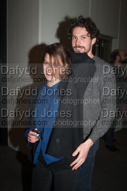 PATRICK O'SULLIVAN; HANNAH THUAL, The Culture Whisper Launch party. Royal College of art. Royal College of Art, Kensington Gore. London. 28 January 2014