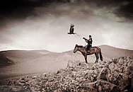 An Eagle Hunter Mongolia's Altai Mountains.