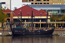 Peoria Riverfront - Pinta replica