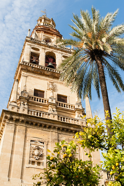 Cathedral tower in Cordoba (Spain)