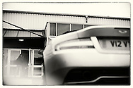 Aston Martin & Leica Roadtrip Outside the current Leica factory in Solms