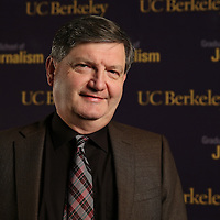 "Reporter James Risen is seen outside prior to the ""Prosecuting the Press"" event at the UC Berkeley Graduate School of Journalism in Berkeley, California, on Thursday, November 14, 2013. Risen, the New York Times national security reporter is facing jail for refusing to comply with a subpoena to reveal his sources in relation to his book titled State of War: The Secret History of the CIA and the Bush Administration. (AP Photo/Alex Menendez)"