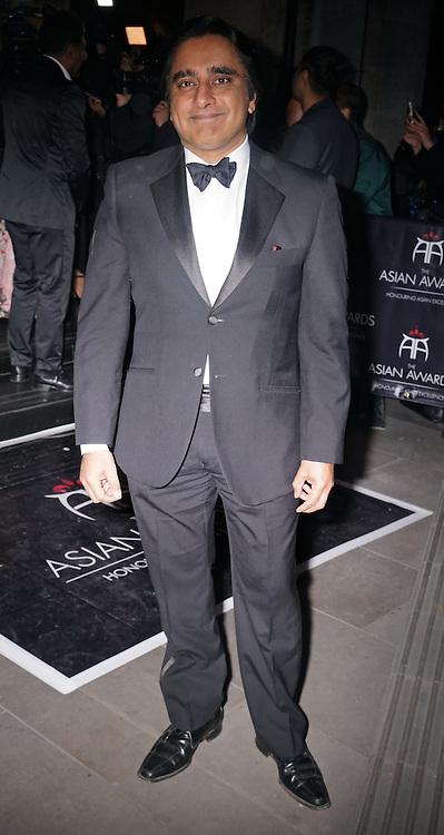 London,England,UK : 8th April 2016 : Sanjeev Bhaskar attend the The Asian Awards 2016 at Grosvenor House Hotel, Park Lane, London. Photo by See Li