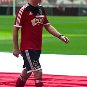 Amsterdam, 25-07-2013. Zo'n 20.000 fans waren naar de Amsterdam Arena gekomen voor de Open dag van Ajax. De spelers werden gepresenteerd  en trainden in de Arena. Foto Dennis Bergkamp.