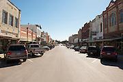 Main Street, Cuero, Texas. Fracking brought a huge oil boom to Dewitt County in Texas....© Stefan Falke www.stefanfalke.com.Unterwegs mit Peter Hossli.