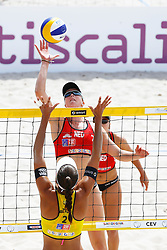 20140606 ITA: EK Beachvolleybal, Cagliari<br /> Madelein Meppelink <br /> ©2014-FotoHoogendoorn.nl / Pim Waslander