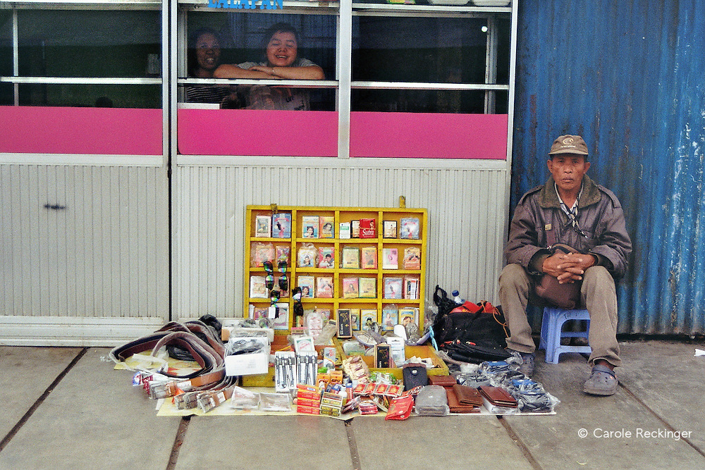 Indonesian peddlers set up their pop-up shops along the main shopping street in the highland town of Wamena. Most of the products they sell are meant to increase men's sexual stamina, size and prowess. Talking openly about condoms and sex is still a problem in most churches and among cultural leaders.
