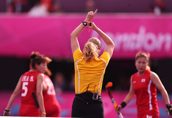 London Olympics 31072012.Womens Hockey, Great Britain v Korea..Photo: Grant Treeby