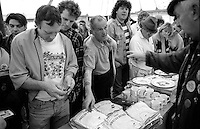 Justice For Mineworkers . 1993 Yorkshire Miner's Gala. Wakefield.