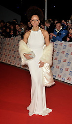 Natalie Gumede Arrives At The annual National Television Awards 2013, O2 Arena, Greenwich, London, UK, January 23, 2013. Photo by i-Images.