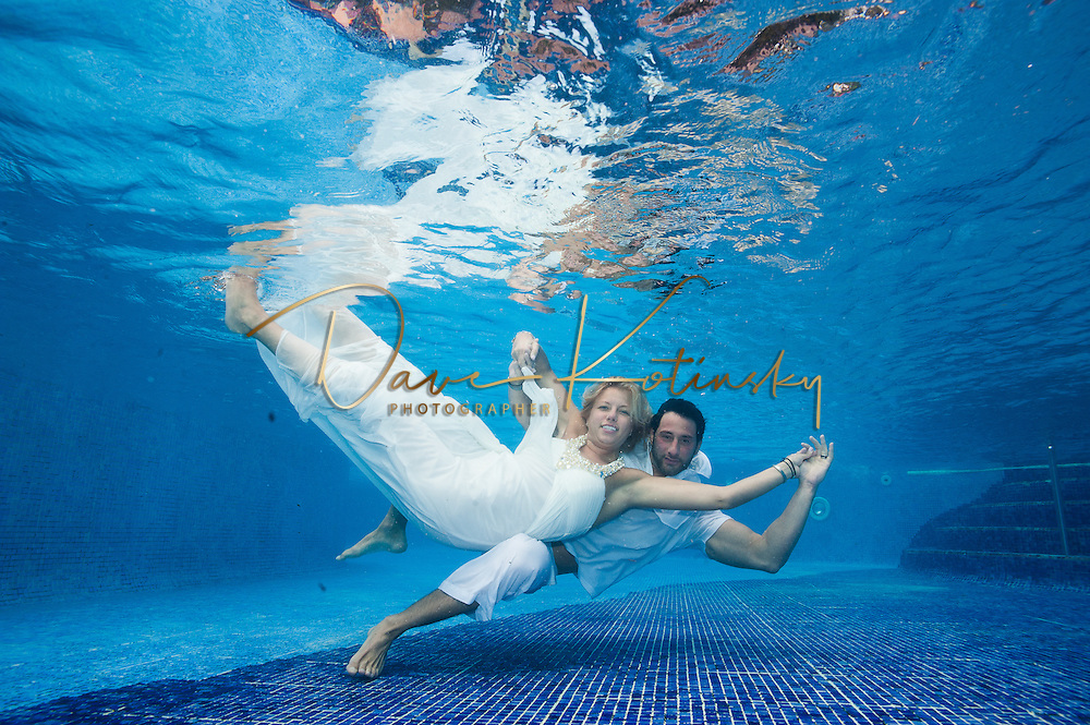 Unerwater Wedding Photography Destination Weddings