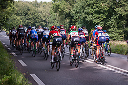 Peloton in pursuit of rider during the Holland Ladies Tour, 's-Heerenberg, Gelderland, The Netherlands, 1 September 2015.<br /> Photo: Pim Nijland / PelotonPhotos.com