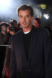 Gavin Rossdale arriving for The Voice UK auditions at The Voice UK Dock 10, Media City Blue, Salford, Manchester.