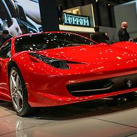 2010 Ferrari 458 Italia, Geneva Motor Show