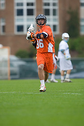 05 April 2008: Virginia Cavaliers midfielder Brian Carroll (30) during a 11-12 OT win over the North Carolina Tar Heels on Fetzer Field in Chapel Hill, NC.