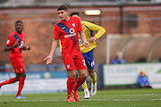 York City midfielder Ben Godfrey  during the Sky Bet League 2 match between York City and Accrington Stanley at Bootham Crescent, York, England on 28 November 2015. Photo by Simon Davies.