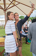 MELISSA MILLS; SASKIA BOXFORD, Cartier Queen's Cup. Guards Polo Club, Windsor Great Park. 17 June 2012