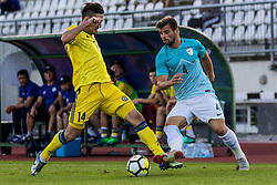 Janez Pisek of Slovenia during football match between Slovenia and Kazahstan in Qualifying round for European Under-21 Championship 2019, on September 11, 2018 in Mestni Stadium Ptuj, Slovenija, 2018. Photo Grega Valancic