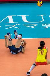 14-10-2018 JPN: World Championship Volleyball Women day 15, Nagoya<br /> China - United States of America 3-2 / Ting Zhu #2 of China