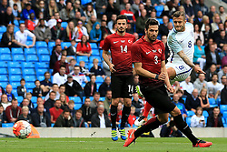 Jack Wilshere of England fires a shot at goal  - Mandatory byline: Matt McNulty/JMP - 07966386802 - 22/05/2016 - FOOTBALL - Etihad Stadium -Manchester,England - England v Turkey - International Friendly