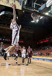 Virginia Cavaliers forward Jason Cain (33) grabs a pass against VT.  The Virginia Cavaliers Men's Basketball Team defeated the Virginia Tech Hokies 69-56 at the John Paul Jones Arena in Charlottesville, VA on March 1, 2007.