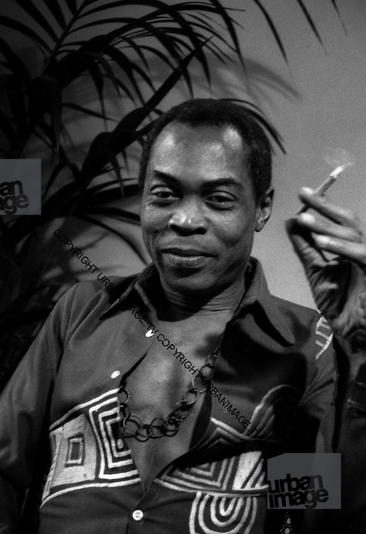 Fela Kuti on 1989 visit to London