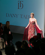 Fashion designer Dany Tabet's  runway show at Nolcha Fashion Week New York Fall-Winter 2014. Nolcha Fashion Week New York is a leading award winning event, held during New York Fashion Week, for independent fashion designers to showcase their collections to a global audience of press, retailers, stylists and industry influencers. Over the past six years Nolcha Fashion Week: New York has established itself as a platform of discovery promoting innovative fashion designers through runway shows and exhibition. Nolcha Fashion Week: New York has built an acclaimed reputation as a hot incubator of new fashion design talent and is officially listed by New York City Economic Development Corporation; offering a range of cost effective options to increase designers recognition and develop their business. (Photo: www.JeffreyHolmes.com)