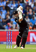Cricket - 2019 ICC Cricket World Cup - 1st Semi-final - India vs New Zealand<br /> <br /> New Zealand's Kane Williamson in action today during the ICC Cricket World Cup match between India and New Zealand at Old Trafford.<br /> <br /> COLORSPORT/ASHLEY WESTERN