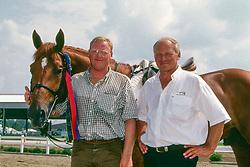 Jespers Adrie, Van de Lageweg Wiepke, NED, Jus de Pomme<br /> Olympic Games Atlanta 1996<br /> © Hippo Foto - Dirk Caremans<br /> 06/01/2018