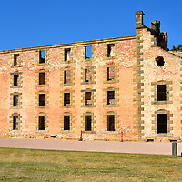 Origin of The Penitentiary at Port Arthur, Australia <br />