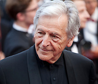 Director Costa-Gavras at Twin Peaks gala screening at the 70th Cannes Film Festival Thursday 25th May 2017, Cannes, France. Photo credit: Doreen Kennedy