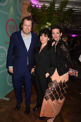 Tom Parker Bowles, Emme Freud and Thomasina Miers at the 2017 Fortnum & Mason Food & Drink Awards held at Fortnum & Mason, Piccadilly London England. 11 May 2017.<br /> Photo by Dominic O'Neill/SilverHub 0203 174 1069 sales@silverhubmedia.com