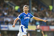 Portsmouth Defender, Christian Burgess (6) during the EFL Sky Bet League 2 match between Portsmouth and Doncaster Rovers at Fratton Park, Portsmouth, England on 1 October 2016. Photo by Adam Rivers.