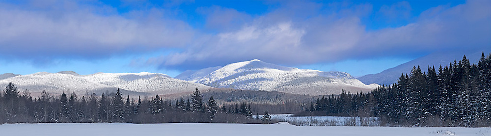 Mt Marcy in Winter, Adirondack Park