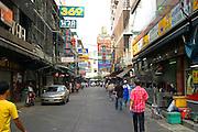 Thailand, Bangkok, Pedestrians,